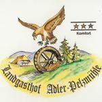 Logo vom Haus  (Adler und Mühlrad)