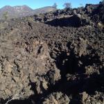 溶岩のトレイル