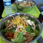 Excellente salade.
