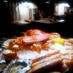 Unser Teller Delikatessen aus dem Meer