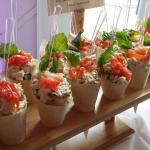 housemade mozzerella, tomato basil chicken salad