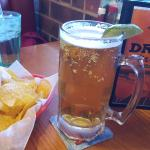 """chips and the """"big"""" Dos Equis"""