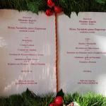 2 Menu-Vorschläge für ihre Weihnachtsfeier