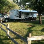 many pull thru or backin rv site options