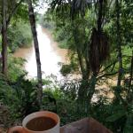 coffee next to the river