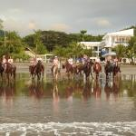 Horseback on Jaco Beach, Hotel 9