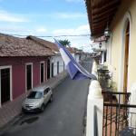 The street outside