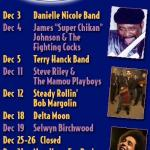 December's Calender Of Events