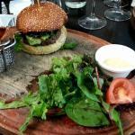 New Apostrophe burger Comté, viande Charolaise, lard