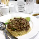 Friend Rice with beef ! Yummyyy !!