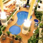Indoor Heated Pool Overhead View