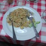 The fried rice is very nice