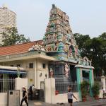 Индуистский храм в China town