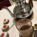 Pistachio Mafruka WITH Moroccan tea