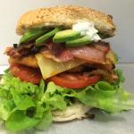 Mega Schnitzel Burger