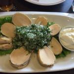 Locos en salsa verde