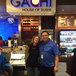 We had an excellent sushi dining experience at the Gachi House at the airport! Incredible servic