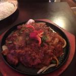 My curry when I first went to Samirah spice, sizzling lambi handi I think it was called, probabl