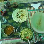cheese and peas, veg pulao