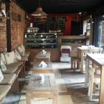 The newly renovated bakery
