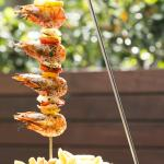 The Harbour Master hanging skewers
