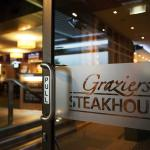 We serve only the best Graziers steaks