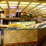 Free buffet: Food and Snacks free 24 hours