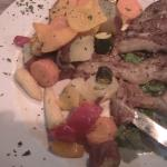 yummy lamb chops & veggies