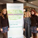Frankie Shelley, Fiona Coe and Karen Shelley - the event Organisers