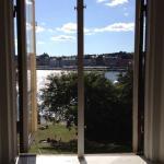 本館のキッチンの窓からの眺め〜すばらしい