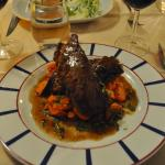 Veal with Orange Carrots