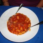 Gnocchi in tomato sauce - delicious