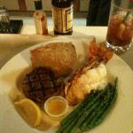 Tenderloin and Lobster