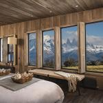 Each Private Villa measures 100 square meters and overlooks the Torres del Paine. (161945447)