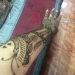 Henna from the bosslady. Was complimented by local women everyday in every city I visited