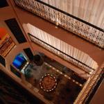 Treppenhaus des Riad