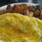 Spinach & Mushroom Omelet