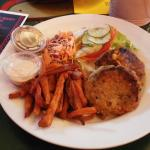 My AMAZING saltfish fish cakes and sweet potato fries