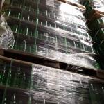 bottles stacked