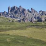 Im südlichen Vorgebirge des Altai
