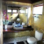 Stone Floor Therapy Massage Bathroom