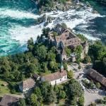 Schloss Laufen_Luftaufnahme