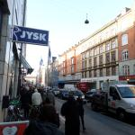 View from the Copenhagen Crown towards Cafe Obelix