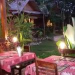 Evening dining at Mandala Ou