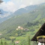 Blick zum Schloß Tirol