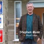 Stephen Moss is a guest at Mead Lodge