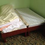 Łóżko małżeńskie w hotelu SKALITE w Szczyrku
