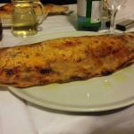 Mein Favorit. Pizza Calzone!
