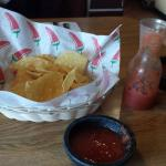 Complementary chips and salsa