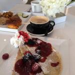 Swedish Pancakes and Egg Souffle